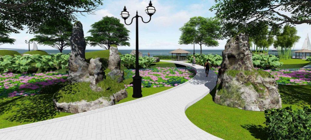 Công viên tại Paradise riverside