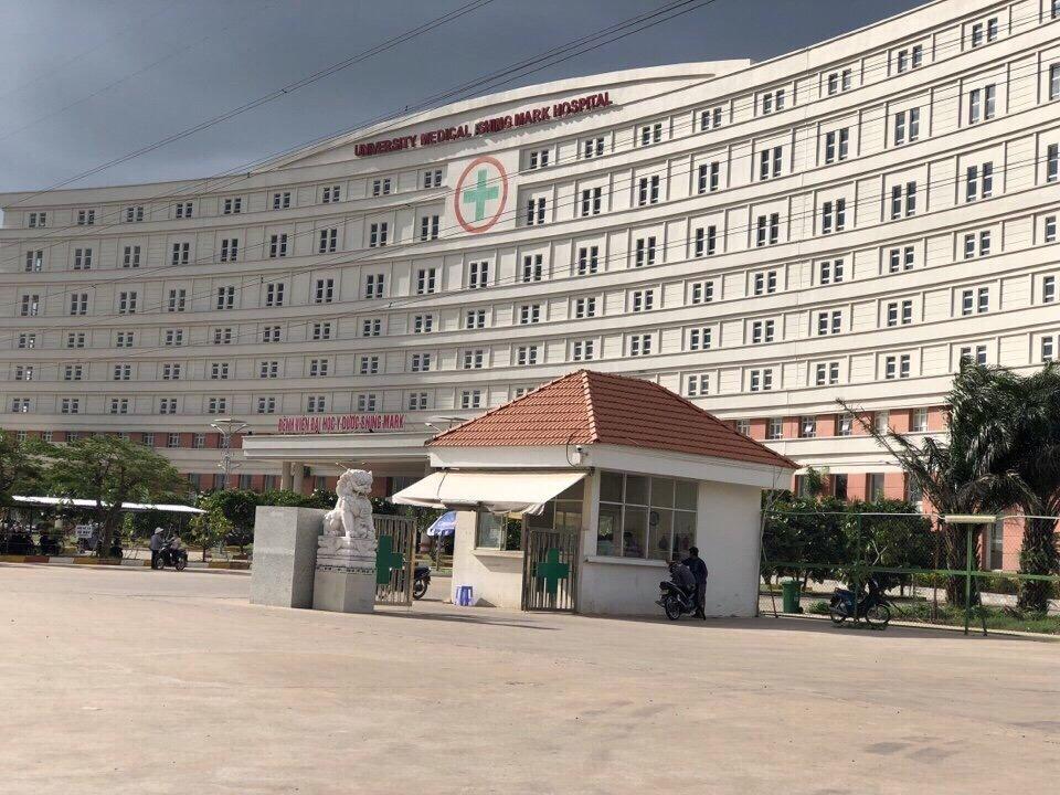 bệnh viện tại dự án Paradise Riverside