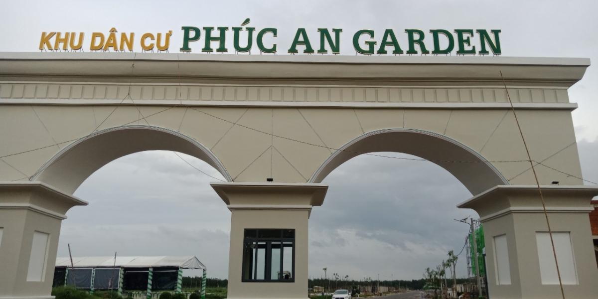 cổng chính phúc an garden