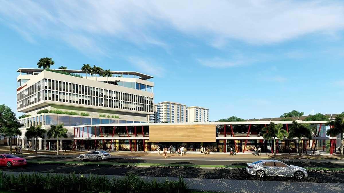 trung tâm thương mại qi island